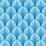 blue leaf pattern 01