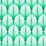green leaf pattern
