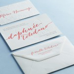 invitation daphnée