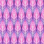 pink leaf pattern
